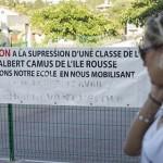 Genitori contro la soppressione di una classe bilingue a Isola Rossa