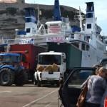 Blocchi di protesta al porto di Bonifacio per la fine del collegamento con la Sardegna