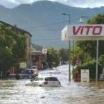 I forti temporali causano gravi allagamenti e strade interrotte in Alta Corsica