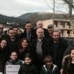 Manifestazioni contro la chiusura delle scuole bilingue di Morosaglia e Santo Pietro di Tenda