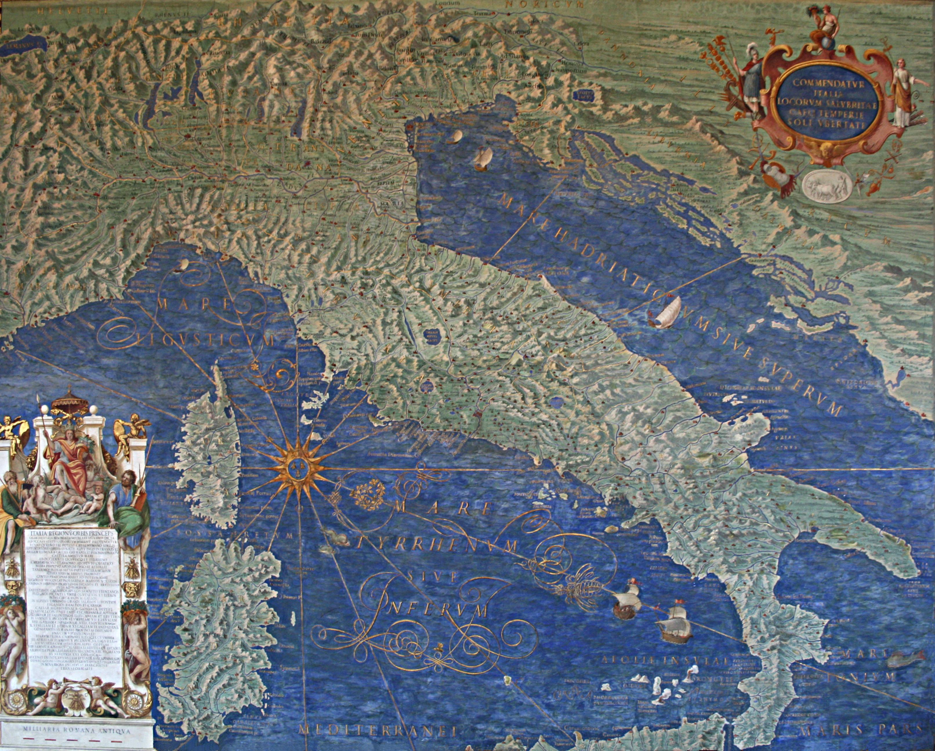 Italie_-_Corse_-_Sardaigne_-_Galleria_delle_carte_geografiche