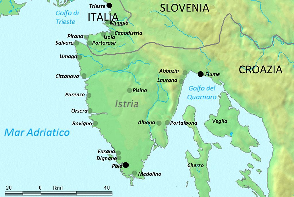 Portorose Slovenia Cartina Geografica.Bilinguismi A Confronto 4 Istria Corsica Oggi