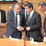 Talamoni a Valls: la francofonia è parte di ciò che siamo, ma la coufficialità non è un capriccio
