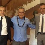 L'indipendentista polinesiano Oscar Temaru in Corsica cerca appoggi per le Presidenziali