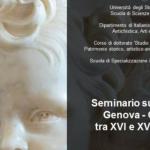 All'Università di Genova un seminario sui rapporti Genova-Corsica tra XVI e XVIII secolo