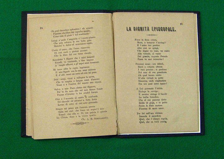 Opera del 1888 in lingua italiana del poeta nazionale maltese Dun Karm Psaila