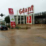 Furiani: i negozi del centro commerciale riaprono dopo i danni dell'alluvione