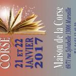 Salone del libro còrso a Marsiglia il 21-22 gennaio, concerto di A Pasqualina all'inaugurazione