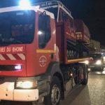 I vigili del fuoco di Marsiglia nell'isola per aiutare i loro omologhi isolani raggiungono Corte