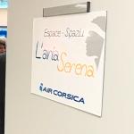 L'Aria Serena, la sala dedicata da Air Corsica ai Corsi in viaggio a Marsiglia per curarsi