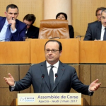 Nel discorso di Hollande all'Assemblea di Corsica niente di nuovo su coufficialità, status di residente e amnistia