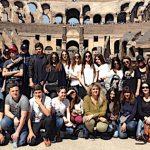 Studenti di Isola Rossa in gita scolastica a Roma