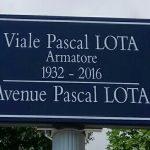 Bastia rende omaggio a Pascal Lota dedicandogli un viale della città