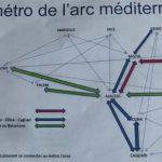 """Presentato il progetto di """"metro aerea"""" tra Corsica, Italia, PACA e Catalogna"""