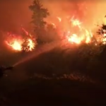 Capo Corso: incendio in corso tra Ogliastro e Pietracorbara, a ridosso delle abitazioni