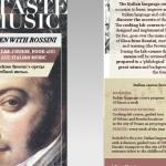 Il sapore della musica: In cucina con Rossini