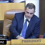 Simeoni: vorrei uno statuto d'autonomia di pieno diritto e di pieno esercizio