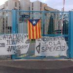 Ghjuventù Indipendentista e Corsica Libera manifestano in sostegno del popolo catalano