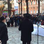 Ajaccio: gli ebrei corsi hanno festeggiato il primo Chanukkah assieme alla comunità musulmana