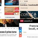 Territoriali: il 1° turno sulla stampa internazionale di lingua italiana