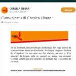 Anche Corsica Libera reagisce al post offensivo contro la vedova Erignac