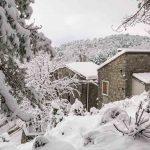 Neve sulla Corsica, allerta gialla meteo nell'isola fino a domani