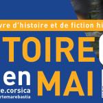 """Dal 14 al 26 maggio a Bastia, Ghisonaccia e Folelli il festival del libro """"Histoire(s) en mai"""""""