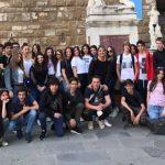 Gli studenti del collège Paoli di Isola Rossa in viaggio d'istruzione in Toscana