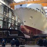 Da ottobre entra in servizio la più grande nave cargo del Mediterraneo