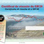 Il Parco della Corsica consegna i certificati ufficiali di completamento del GR20