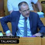 Talamoni all'Assemblea: vogliamo un'altra Europa