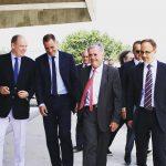 Il principe Alberto II di Monaco in visita ufficiale in Corsica