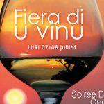 Capo Corso: il 7-8 luglio la 29^ Fiera di u Vinu a Luri