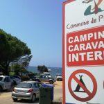 La Collettività della Corsica contro il campeggio selvaggio fuori dagli spazi autorizzati