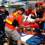 Una signora di Nizza con una lettera ringrazia i volontari del SNSM di Propriano per averle salvato la vita