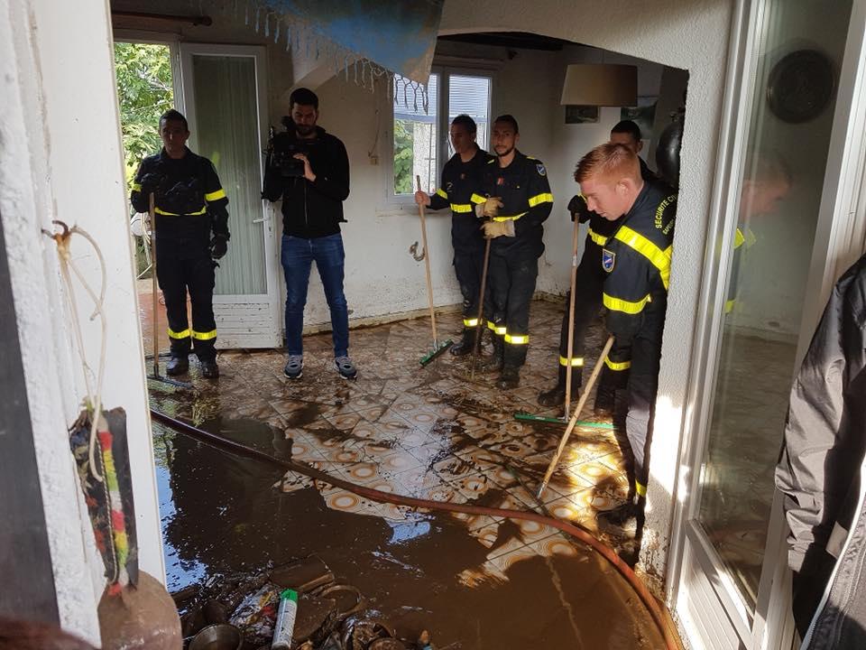 A Penta di Casinca si contano i danni dopo l'inondazione e gli allagamenti