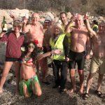 Primi bagni dell'anno 2019 a Bastia, Calvi e Isola Rossa