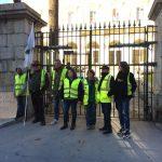 I Gilet gialli hanno bloccato l'accesso al deposito petrolifero della Marana e hanno manifestato davanti alla Prefettura di Ajaccio