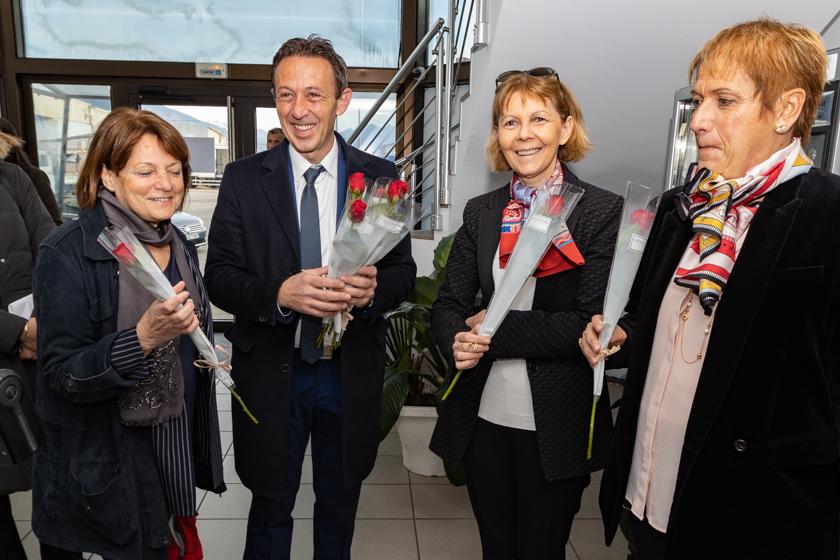 In occasione della Festa della donna il prefetto Josiane Chevalier ha visitato alcune eccellenze al femminile