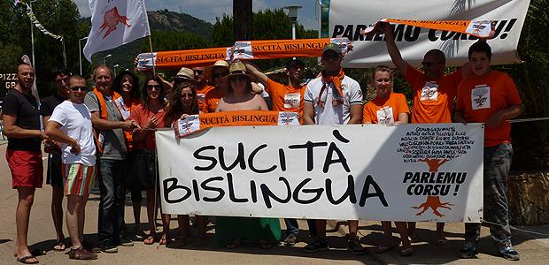 Il 23 marzo grande manifestazione ad Ajaccio in difesa della lingua corsa