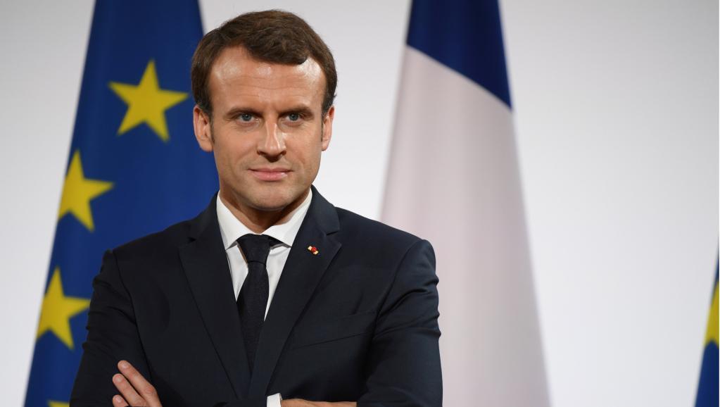 Risultati immagini per Macron immagini
