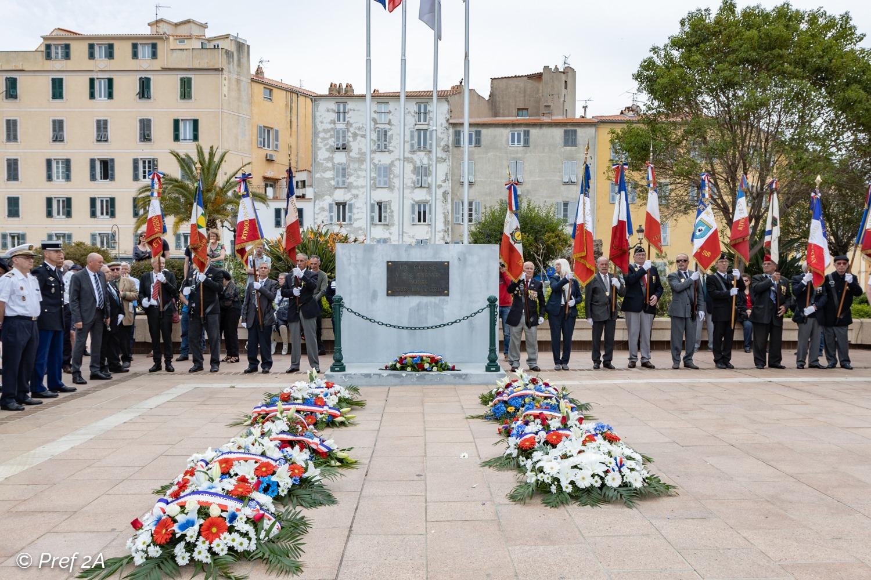 Celebrata in tutta la Corsica la Giornata della Vittoria