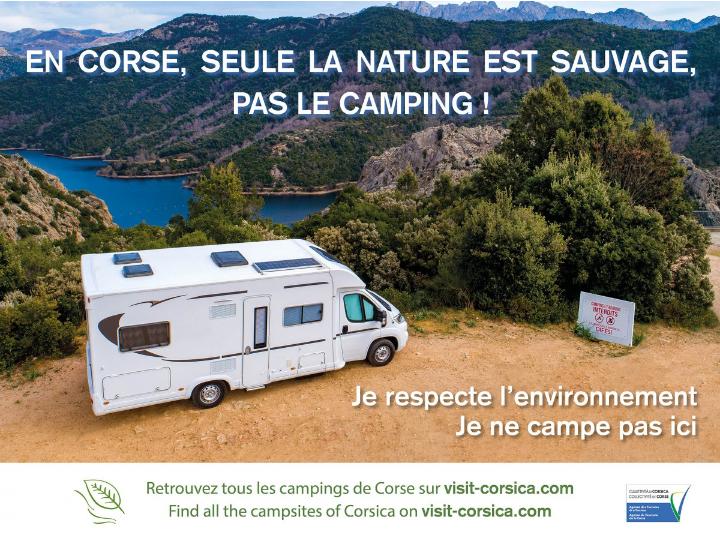 La Corsica dice no al campeggio selvaggio