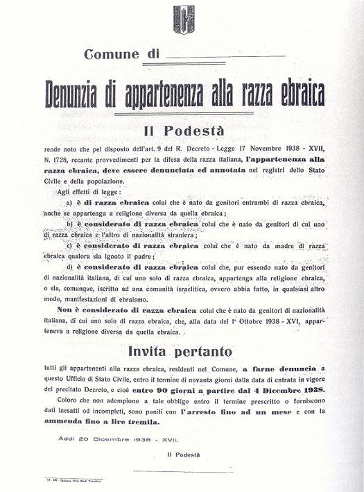 Il campo di internamento per gli ebrei corsi ad Asco nel 1943