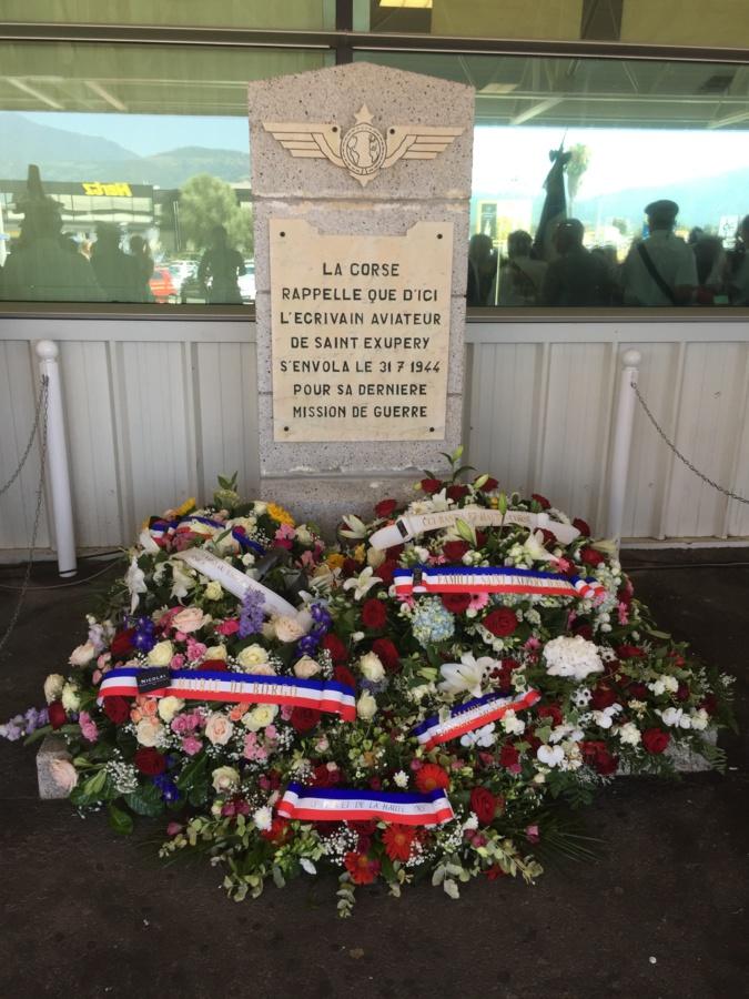 All'aeroporto di Bastia ricordato lo scrittore e aviatore Antoine de Saint-Exupéry