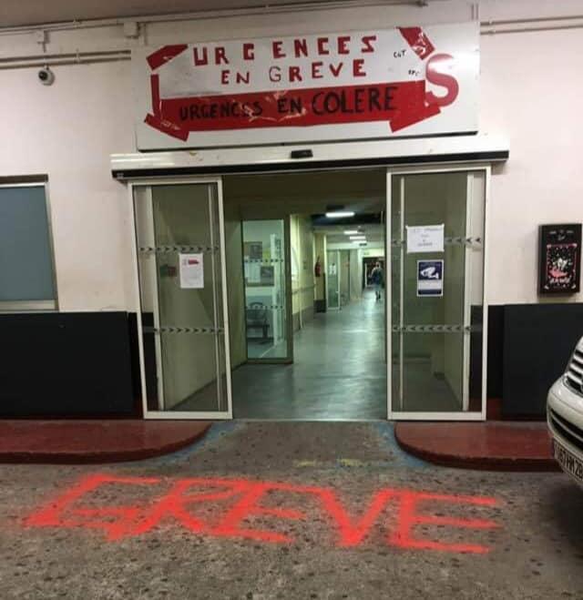 Sciopero del reparto urgenze dell'Ospedale di Bastia