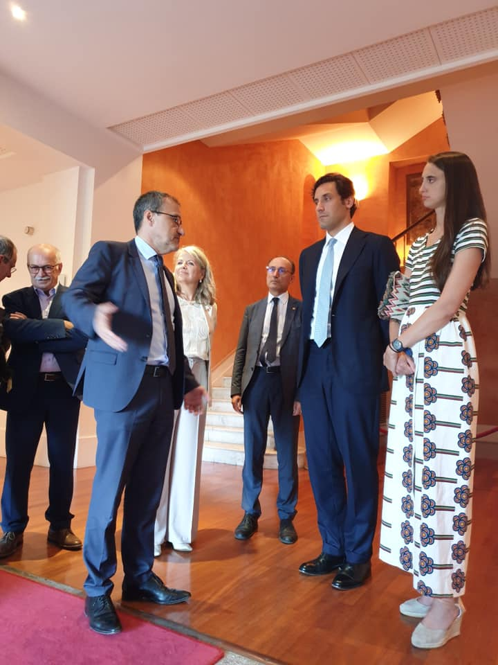Jean-Guy Talamoni ha ricevuto il discendente di Napoleone all'Assemblea della Corsica